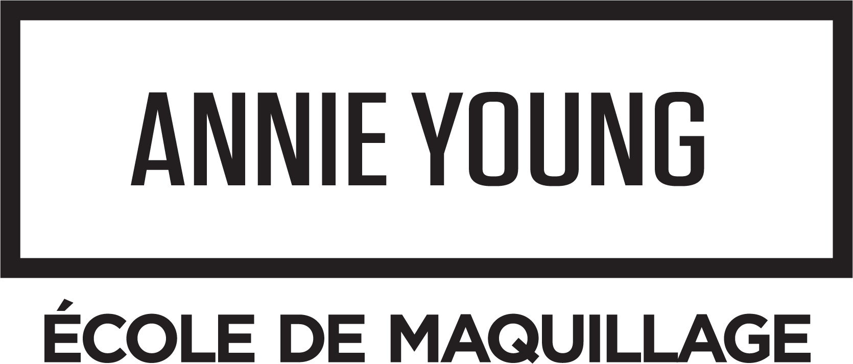 Annie Young School of Makeup Logo FR